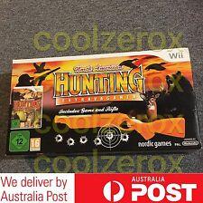 North American HUNTING Extravaganza + Rifle Gun Wii PAL