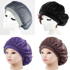 Long Hair Care Womens Satin Bonnet Cap Night Sleep Hat Silk feel Cap Head Wrap.