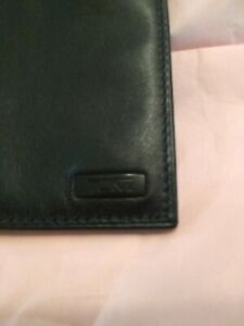 Tumi Leather Passport and Credit Card Holder
