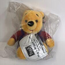 1997 Mattel Winnie The Pooh Hug'N Wiggle New In Bag Plush VTG