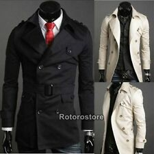 Unbranded Collared Double Breasted Coats & Jackets for Men