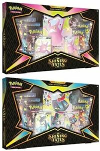 Pokemon Shining Fates Premium Collection Box Crobat & Dragapult Both Sets