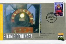 2004 China Railways CLASS SY 2-8-2 Train Stamp FDC Cover (Steam Bicentenary)