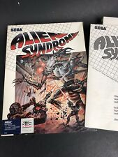 Alien Syndrome  (Amiga, 1988) Sega, Box And Manual Only - No Disc
