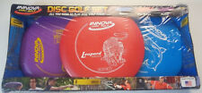 INNOVA DISC GOLF set--Driver, Mid-range, Putter--New in box-Made in USA!