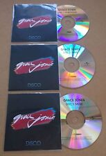 GRACE JONES Disco 2015 UK watermarked 43-trk promo test 3-CD Portfolio Fame Muse