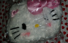 NEW SANRIO Rare Hello Kitty Furry White Pink Purse!