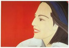 The Red Smile Alex Katz Pop Art print in 11 x 14 mount ready to frame SUPERB