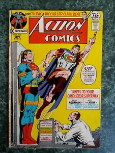 Action Comics #404 VG/FN OW2W Neal Adams Cover (1971 DC COMICS)