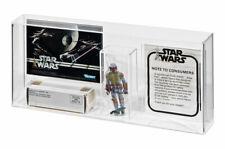 GW Acrylic Display Case Vintage Star Wars Boba Fett Mailer *new design* - AMC004