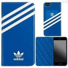 adidas Basics Book Case Cover iPhone 6 Plus, 6s Plus Handy Schutz Tasche Hülle