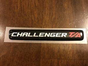Challenger T/A Steering Wheel Badge
