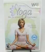 YOGA - ANJA RUBIK WORKOUT GAME FOR NINTENDO Wii, GAME DISC, CASE & MANUAL, GUC