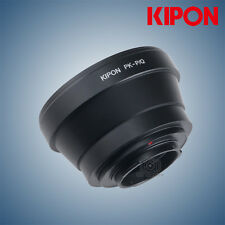 New Kipon adapter for Pentax K Mount lens to Pentax Q camera