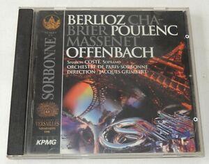 French Festival : ORCHESTRE de PARIS-SORBONNE J. GRIMBERT - BERLIOZ OFFENBACH..