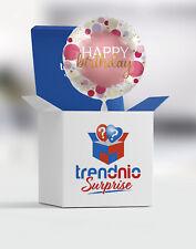 Folienballon mit Helium Happy Birthday Ø 45cm Geburtstag Ballon Geschenkidee