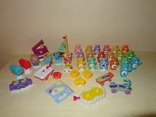 CARE BEARS LOT Care-A-Lot House Furniture, Figures & Accessories