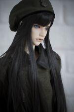 BJD wigs long straight black hair for BJD SD DD doll wigs doll accessories
