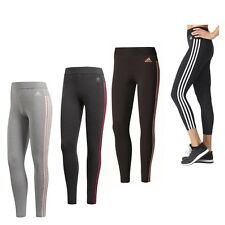 adidas ESS 3S 3 Streifen Fitness Tight Hose Sporthose Damen Frauen Leggings