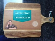 BNWT !! Jamie Oliver Wooden Cheese Board Solid Acacia Wood See Info & Photos