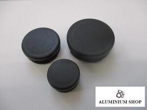 10 Stück Lamellenstopfen Rundrohr von 30 - 50mm /Verschlussstopfen/Endkappe