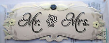JOLEE'S BOUTIQUE TITLE WEDDING MR. & MRS. Craft Scrapbook Sticker Embellishment