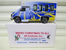 Matchbox 2005 Adventures MERRY CHRISTMAS Chevy Transport Bus New in C9.5 New Box