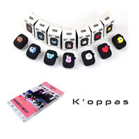 Official Kpop BTS BT21 Airpods Silicone Case Cover Black Edition With Photo Card