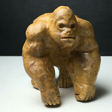 135g Natural Crystal. Serpeggiante. Specimen. Hand-Carved.The Exquisite Gorilla