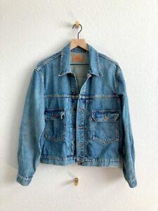 Levi's Vintage Clothing LVC Orange Tab Type 2 Washed Denim Jacket Size 40 (M)