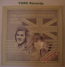ANN & RAY BRETT - Our Music *SIGNED* - Ex Con LP Record Charlotte CHA 0182