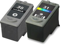 2pk For Canon PG-30 CL-31 Black/Color For PIXMA iP1800 iP2600 MX300 MX310