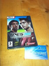 PES 2008 PRO EVOLUTION SOCCER GAME X PC DVD ROM COME NUOVO - ITALIAN VERSION