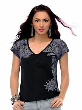 Petites Floral Casual Short Sleeve Tops & Blouses for Women