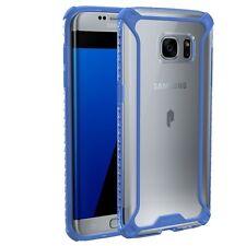 Affinity Premium Thin&Corner Protection Bumper Case for Galaxy S7 Edge Blue