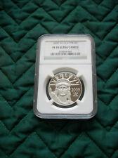 2009 W American Platinum Eagle, $100 coin, PF70 Ucam,NGC