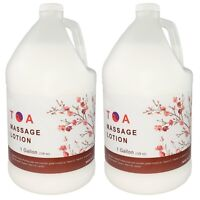 TOA Hydrating Body Unscented Massage Lotion 2 Gallons