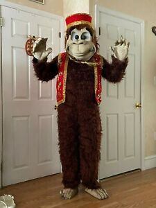 VINTAGE 1990 AUTHENTIC MUMMERS MONKEY COSTUME WORN ONLY ONCE