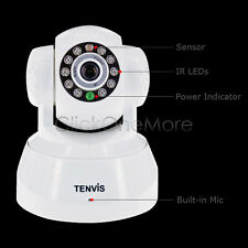 Tenvis Wireless WiFi CCTV Security  Camera Home Shop Warehouse Car Park Gate