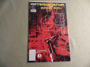 Terminator The Burning Earth #5 (Now Comics 1990) Free Domestic Shipping