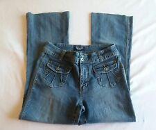 Angel Women's Denim Flare Jeans Sz 14