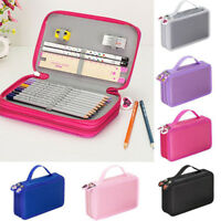 32 Slots School Pencil Case Holder Large Capacity Multi-layer Bag HOT Student SB