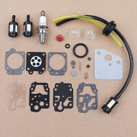 Carburetor Repair Kit Fuel Line for Honda GX35 GX25 HHB25 HHH25 K20-WY K10-WYJ