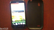 HTC Desire X T328e Android, 4'', 5Mp Camera, black smartphone.