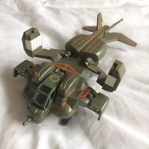 """Aliens Action Fleet Micro Machines """"Troop Drop Ship"""" Galoob 1996"""