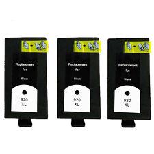 3 tinta cartucho gen Black for 364 XL Photosmart 6510 b109a b8550 c5300 Nooem