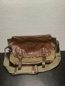 Will Leather Goods Brown Crossbody Bag