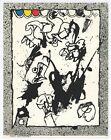 Pierre Alechinsky original lithograph, printed in 1967