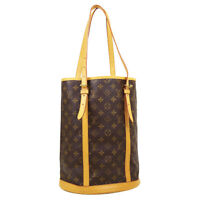 LOUIS VUITTON BUCKET GM SHOULDER TOTE BAG FL0077 PURSE MONOGRAM M42236 O03151