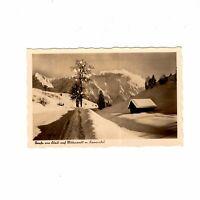 AK Ansichtskarte Straße von Klais nach Mittenwald mit Karwendel - 1934